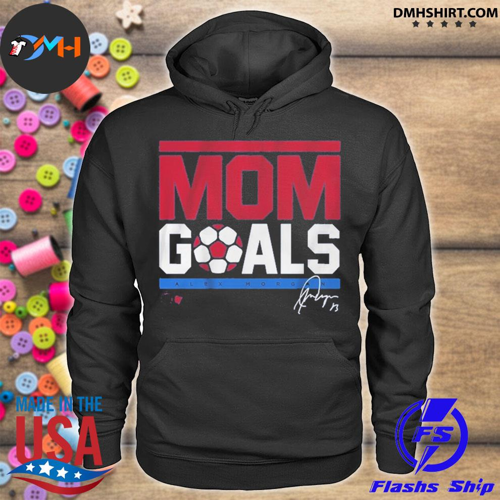 Official mom goals signature hoodie