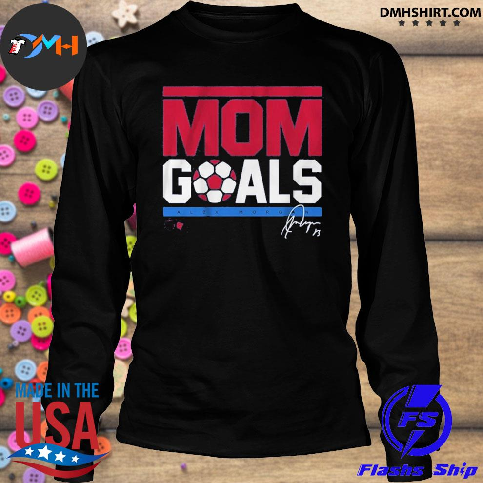 Official mom goals signature longsleeve