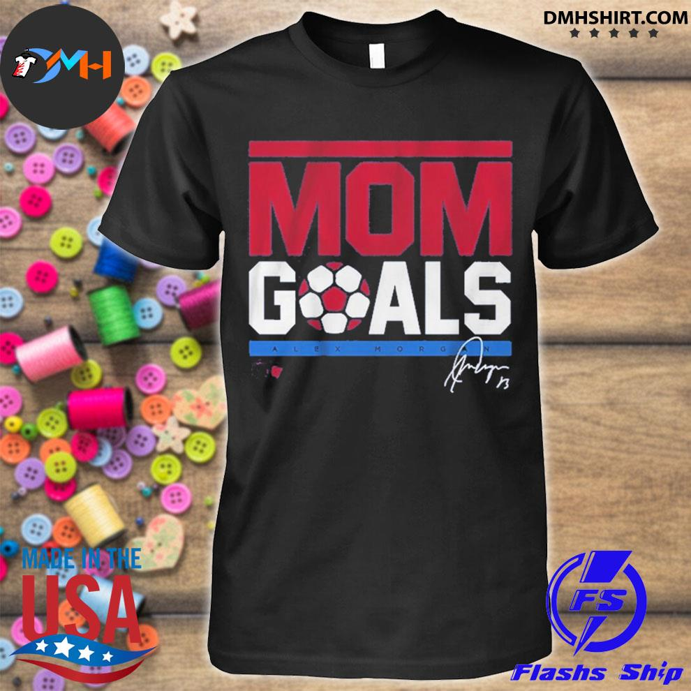 Official mom goals signature shirt