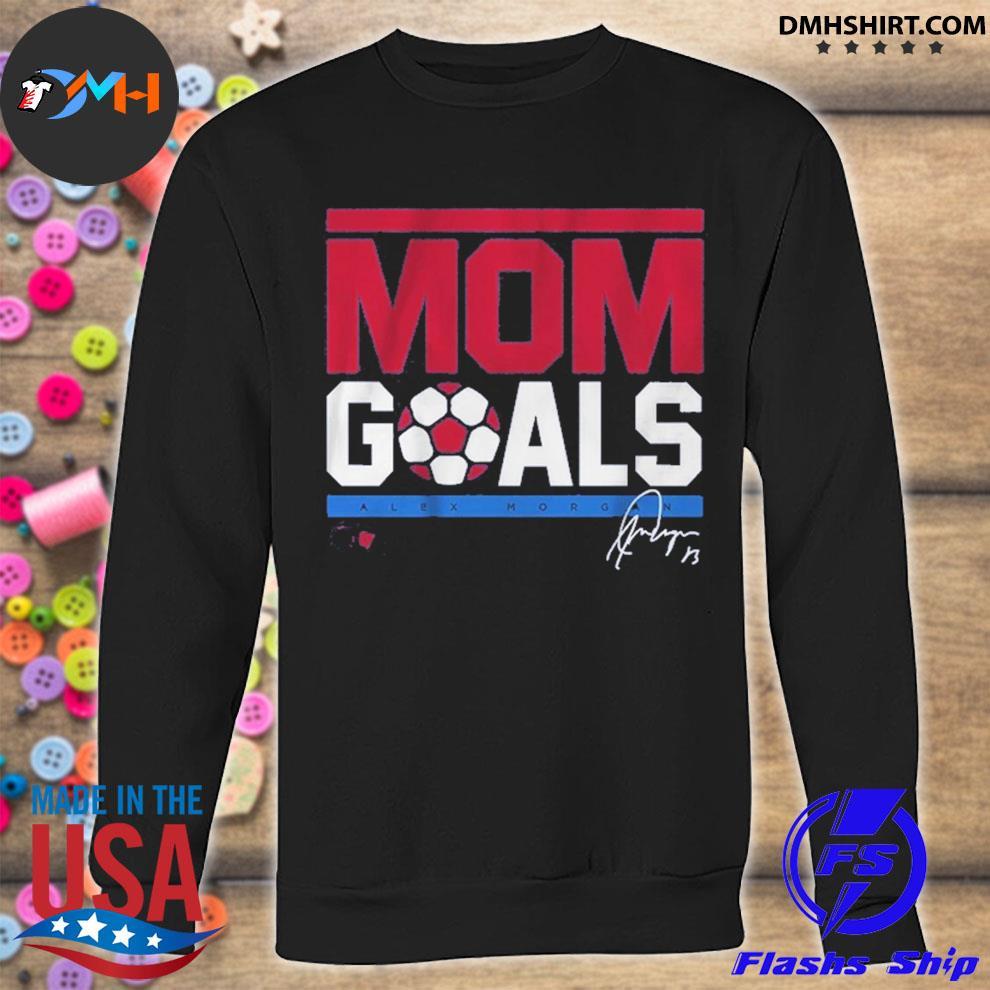 Official mom goals signature sweatshirt