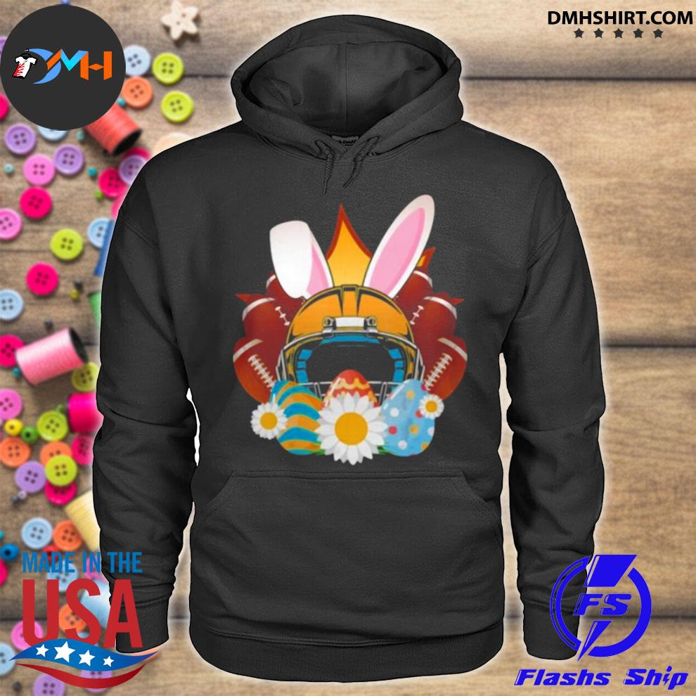 Football Easter Bunny Egg s hoodie