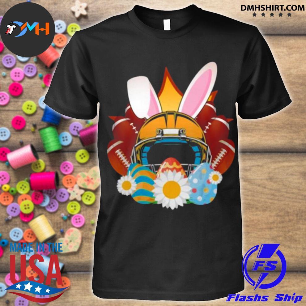 Football Easter Bunny Egg shirt