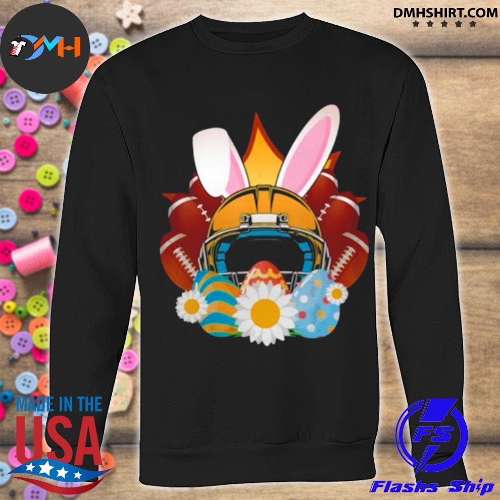Football Easter Bunny Egg s sweatshirt