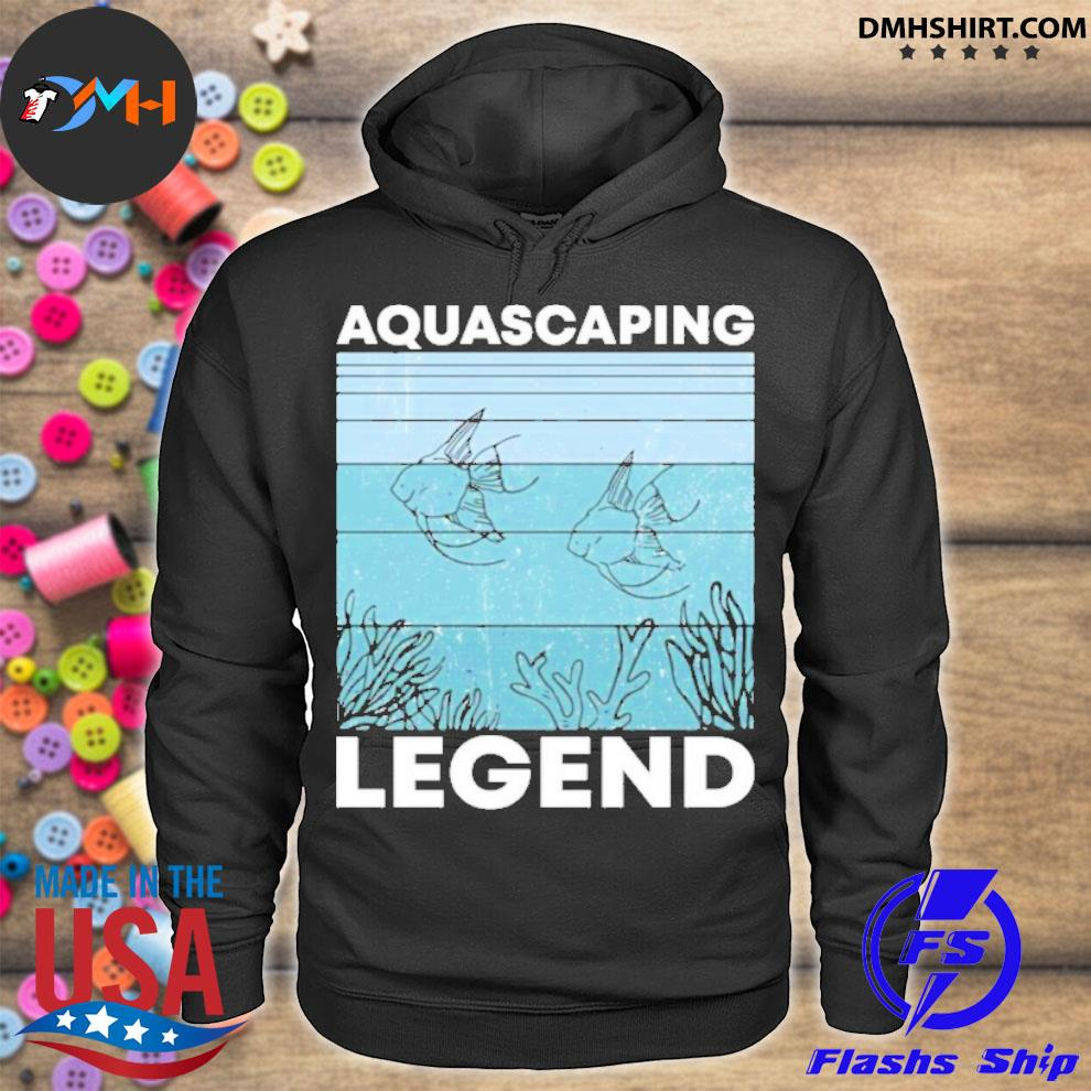 Official aquascaping legend hoodie