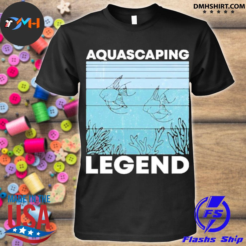 Official aquascaping legend shirt
