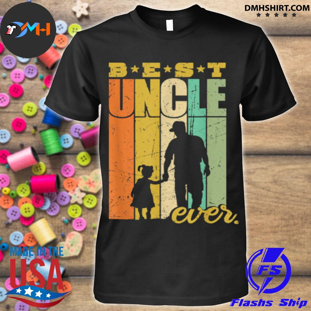 Official best uncle ever uncle and niece shirt