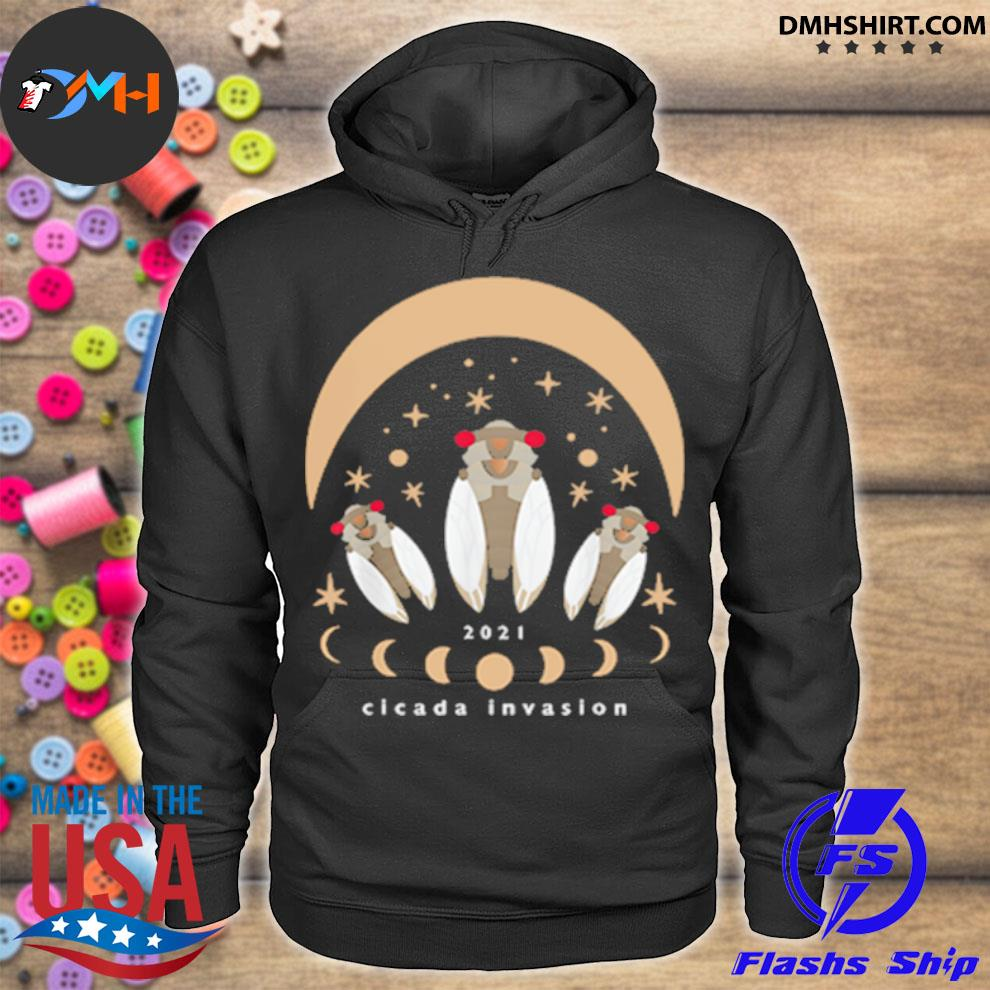 Official cicada 2021 invasion hoodie