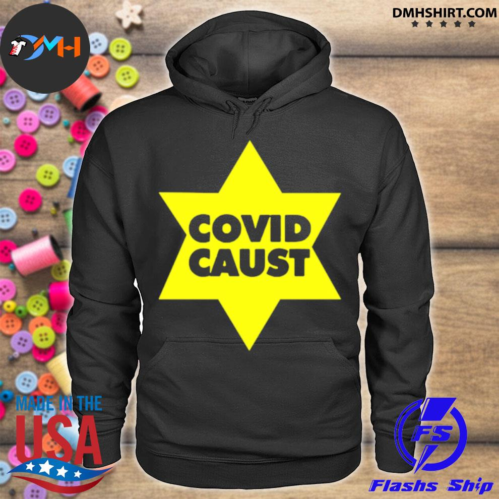 Official covid caust star hoodie