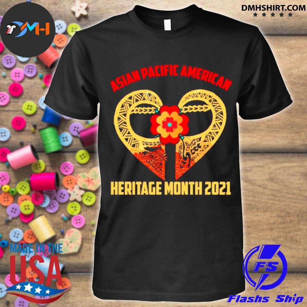 Official heart asian pacific american heritage month 2021 shirt