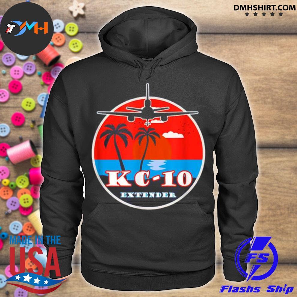 Official kc 10 extender vintage sunset hoodie