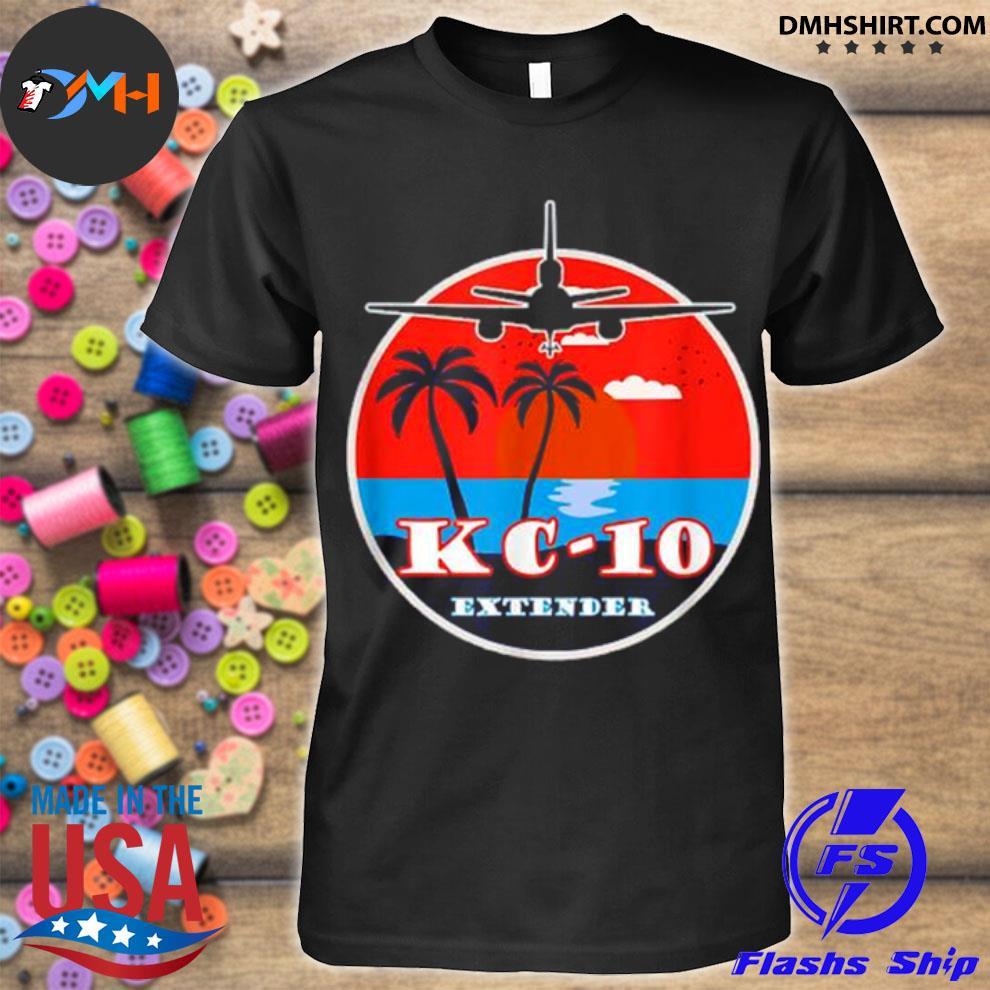 Official kc 10 extender vintage sunset shirt