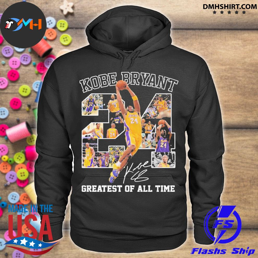 Official kobe bryant 24 greatest of all time hoodie