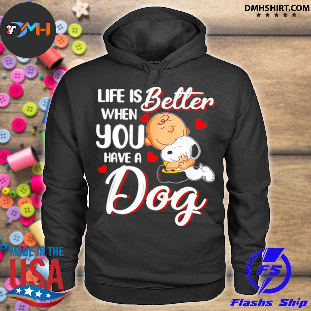 Official life is better when you have a dog hoodie