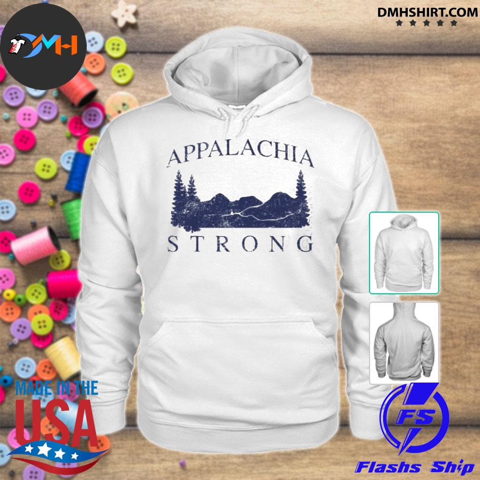 Official mountain appalachia strong hoodie