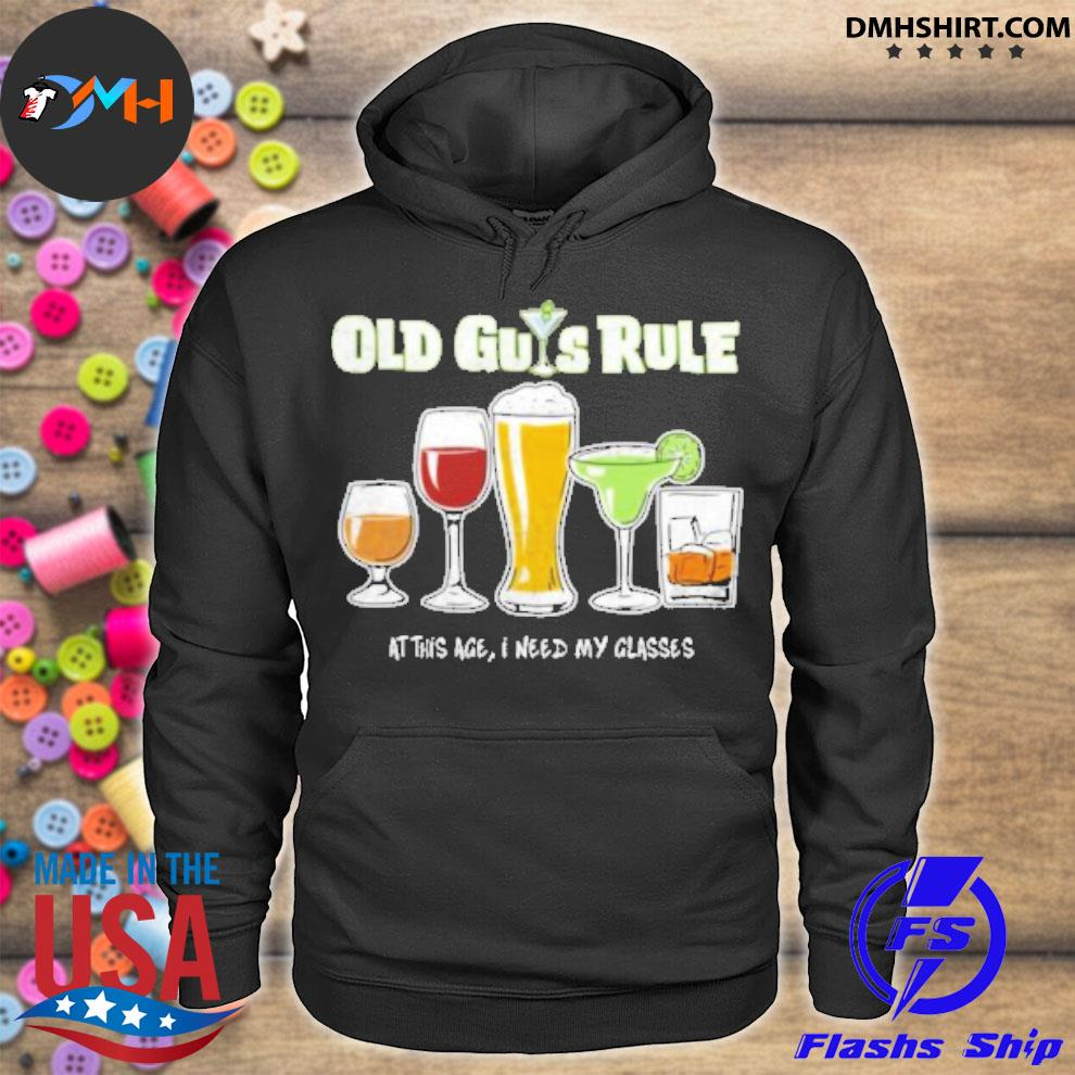 Official old guys rule at this age i need my glasses hoodie