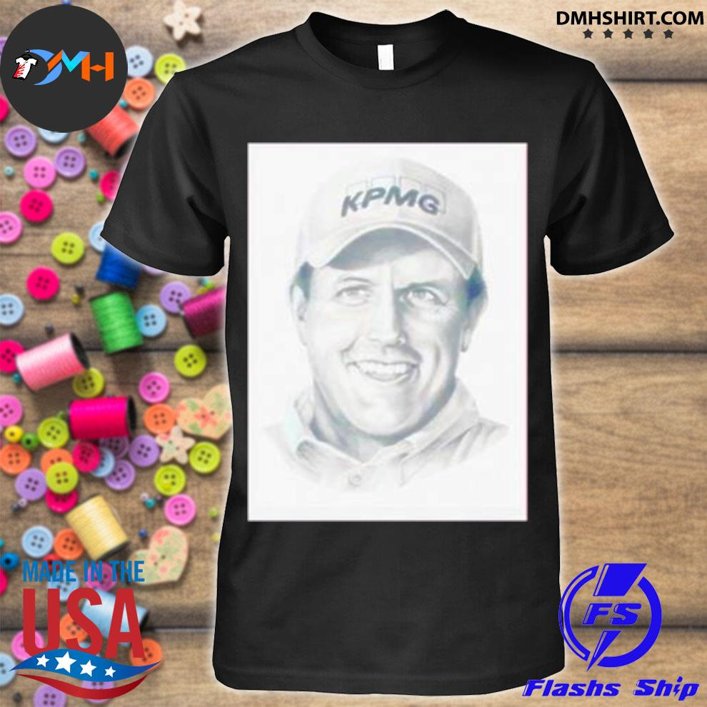 Official phil mickelson kpmg shirt