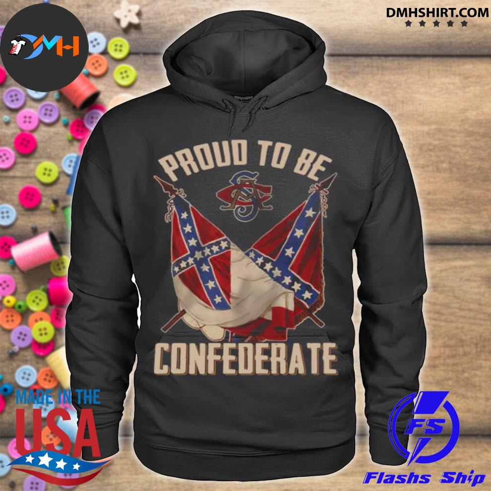 Official proud to be confederate hoodie