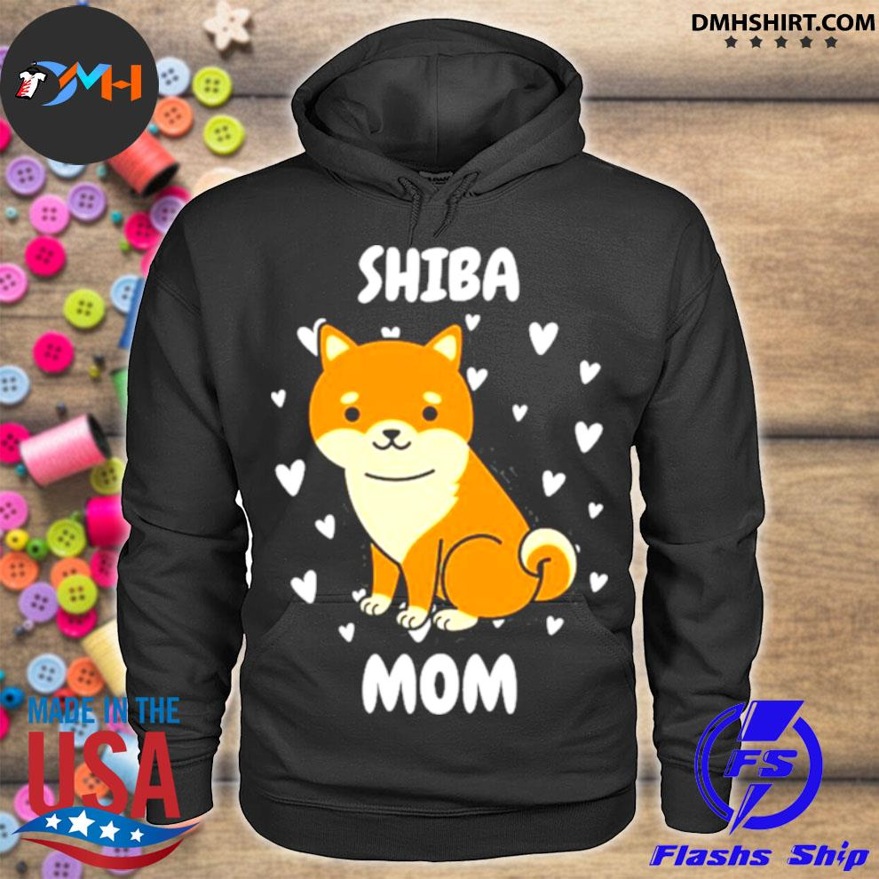 Official shiba mom mummy mama mum mommy mother's day mother hoodie
