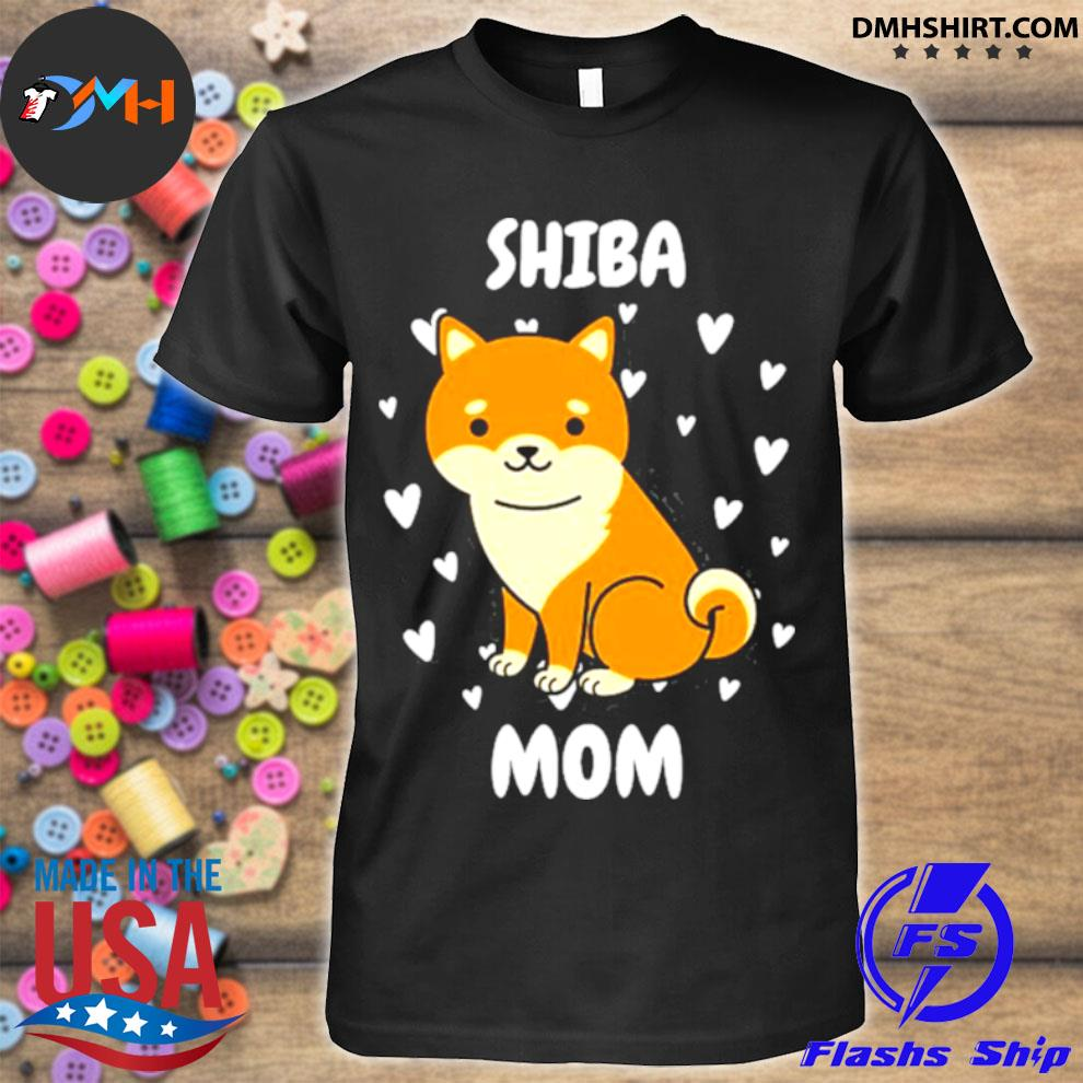 Official shiba mom mummy mama mum mommy mother's day mother shirt