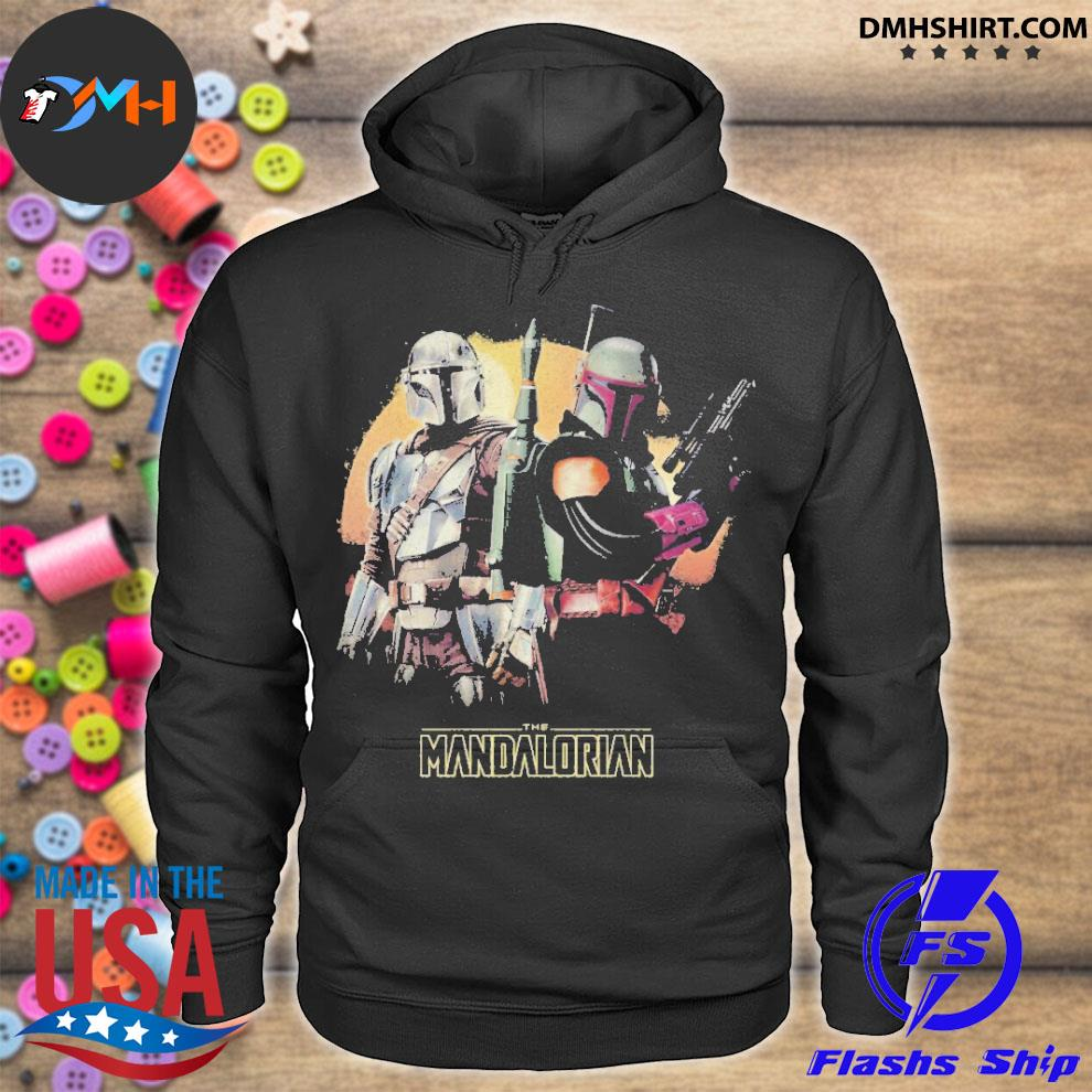 Official the mandalorian 2021 2022 hoodie