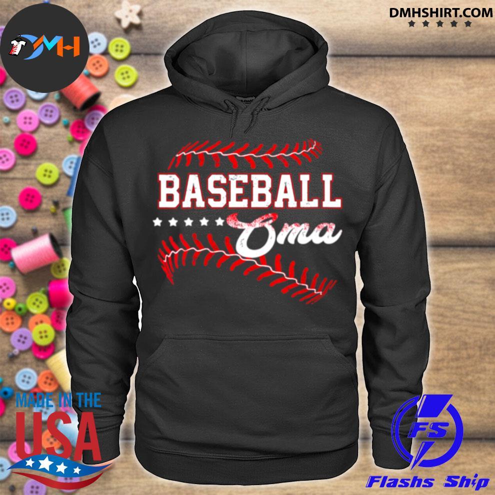 Baseball Oma Baseball Oma Mothers Day hoodie