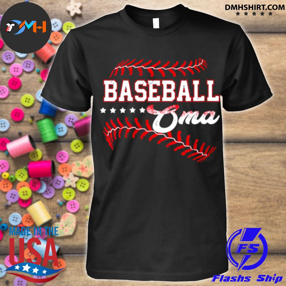 Baseball Oma Baseball Oma Mothers Day shirt
