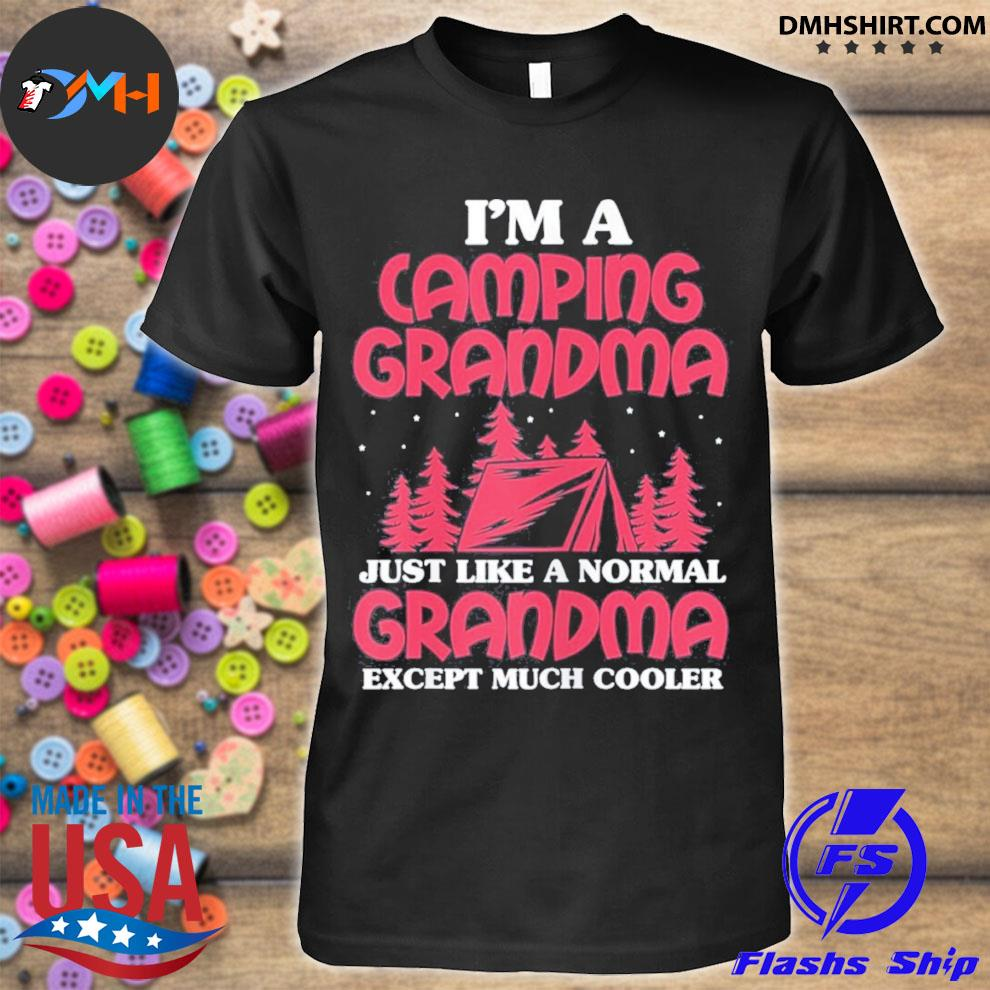 I'm a camping grandma mother's day us 2021 shirt