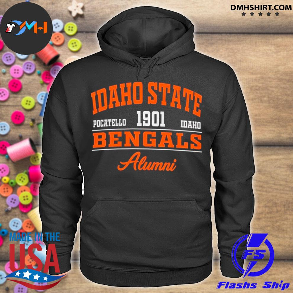 Idaho State Pocatello 1901 Idaho Bengals Alumni hoodie