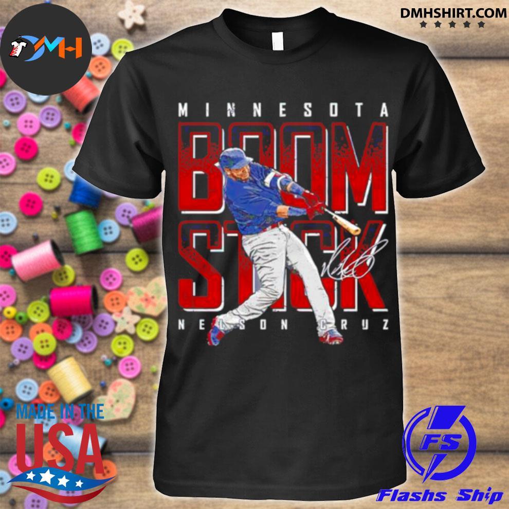 Minnesota Baseball Nelson Cruz Boomstick signature shirt