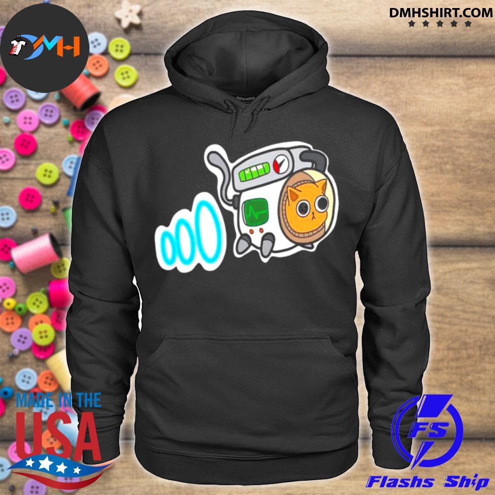 NASA Cartoon Space Cat hoodie