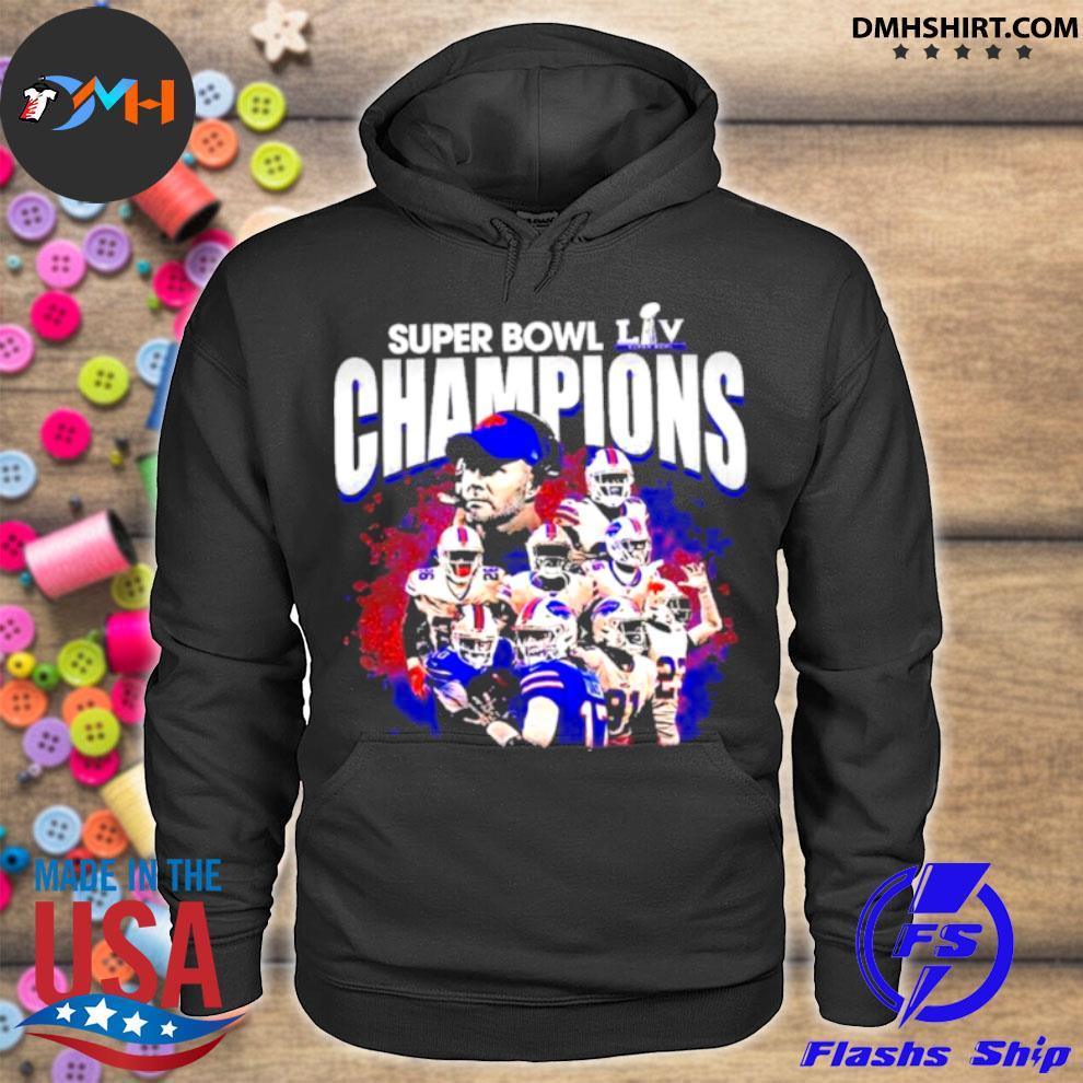 Official buffalo bills baseball super bowl champions 2021 hoodie