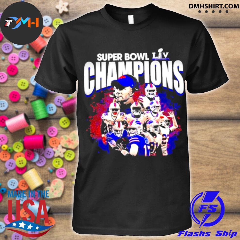 Official buffalo bills baseball super bowl champions 2021 shirt