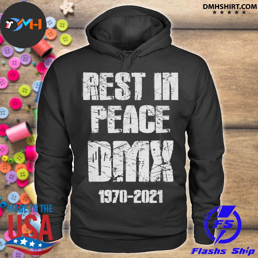 Official rest in peace dmx 1970-2021 hoodie