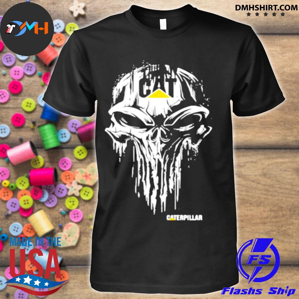 Punisher With Caterpillar Logo Shirt