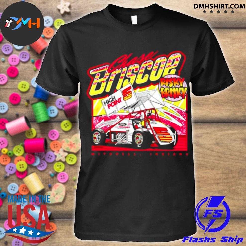 Risky Brisky Throwback chase briscoe shirt