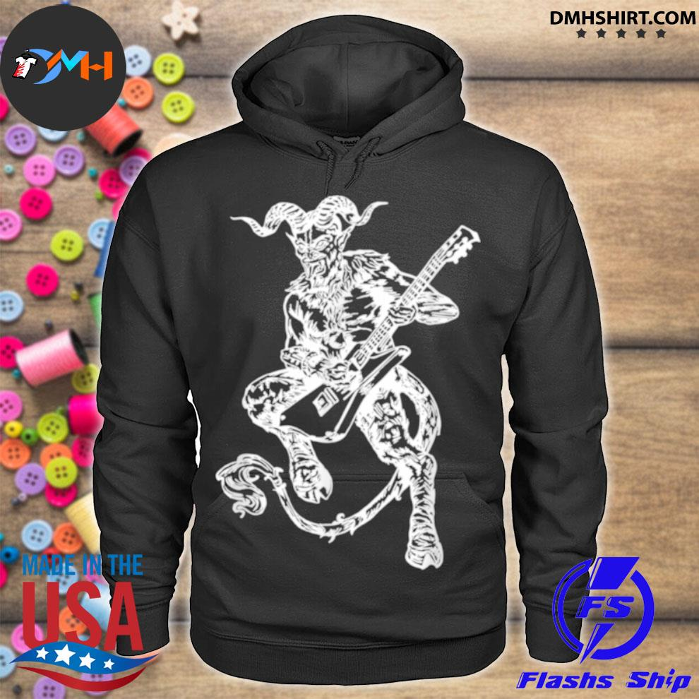 SEEMBO Devil Playing Guitar Guitarist Musician Music Band Shirt hoodie