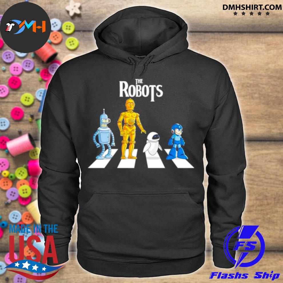 Star Wars The Robots Abbey Road hoodie