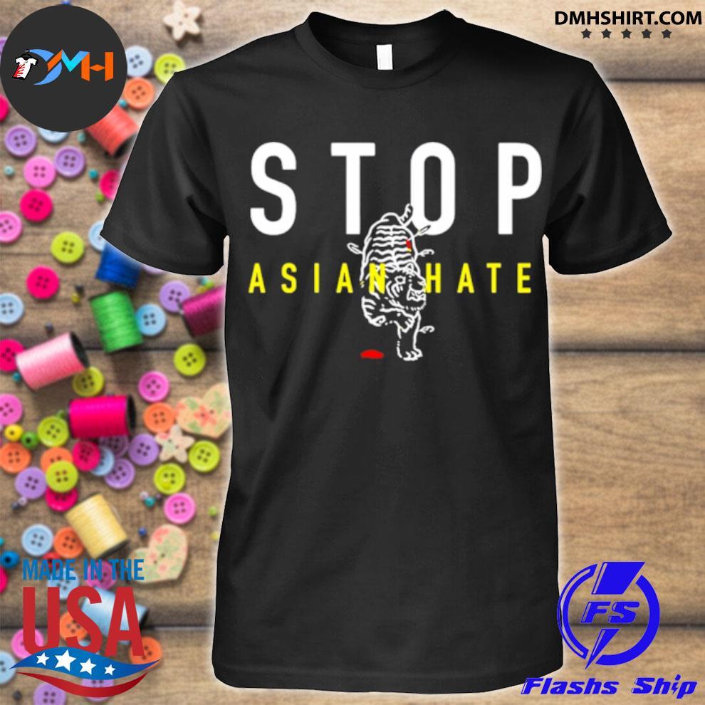 Stop Asian Hate – Bleeding Tiger shirt
