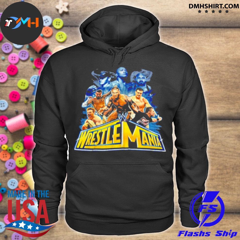Wrestlemania 2021 wwe fan hoodie