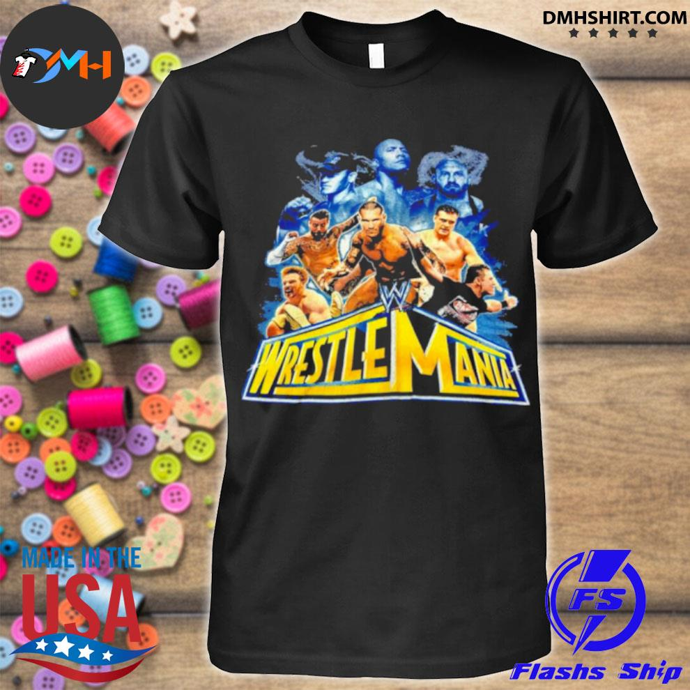 Wrestlemania 2021 wwe fan shirt