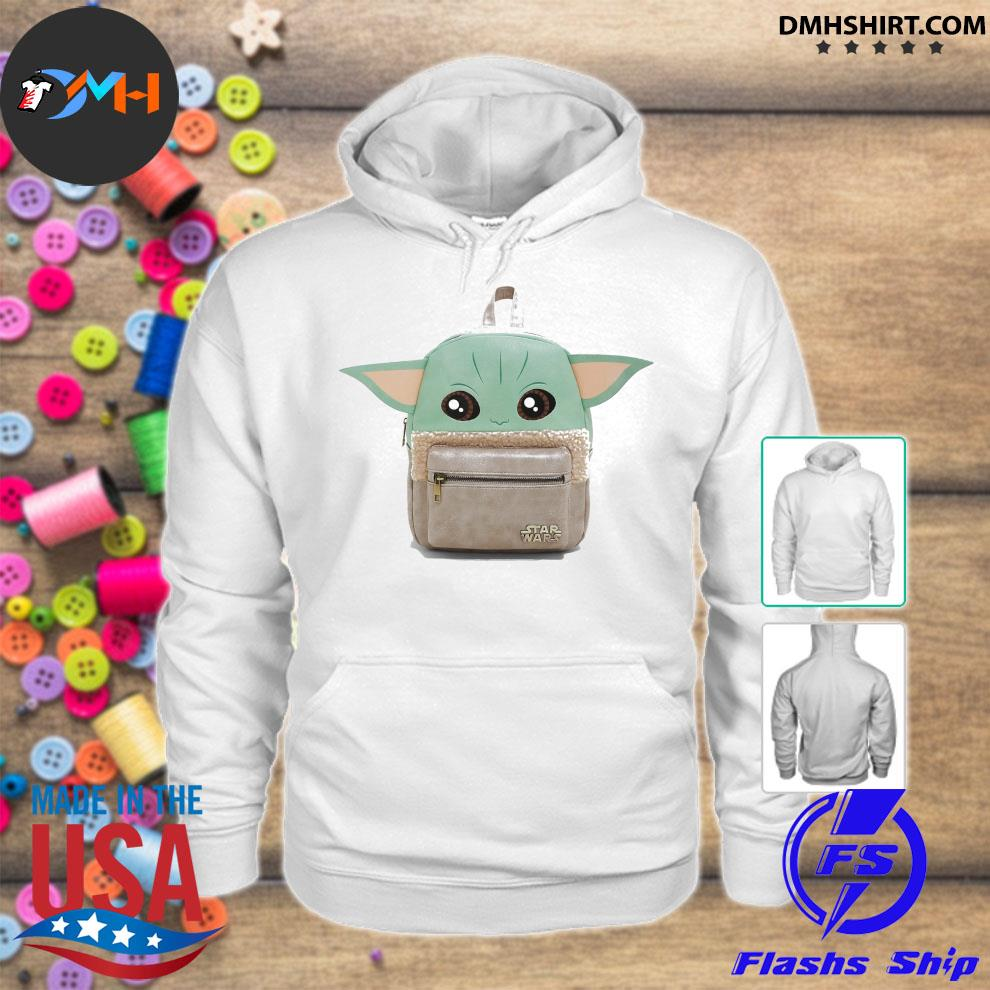 Backpacks Baby Yoda cute hoodie