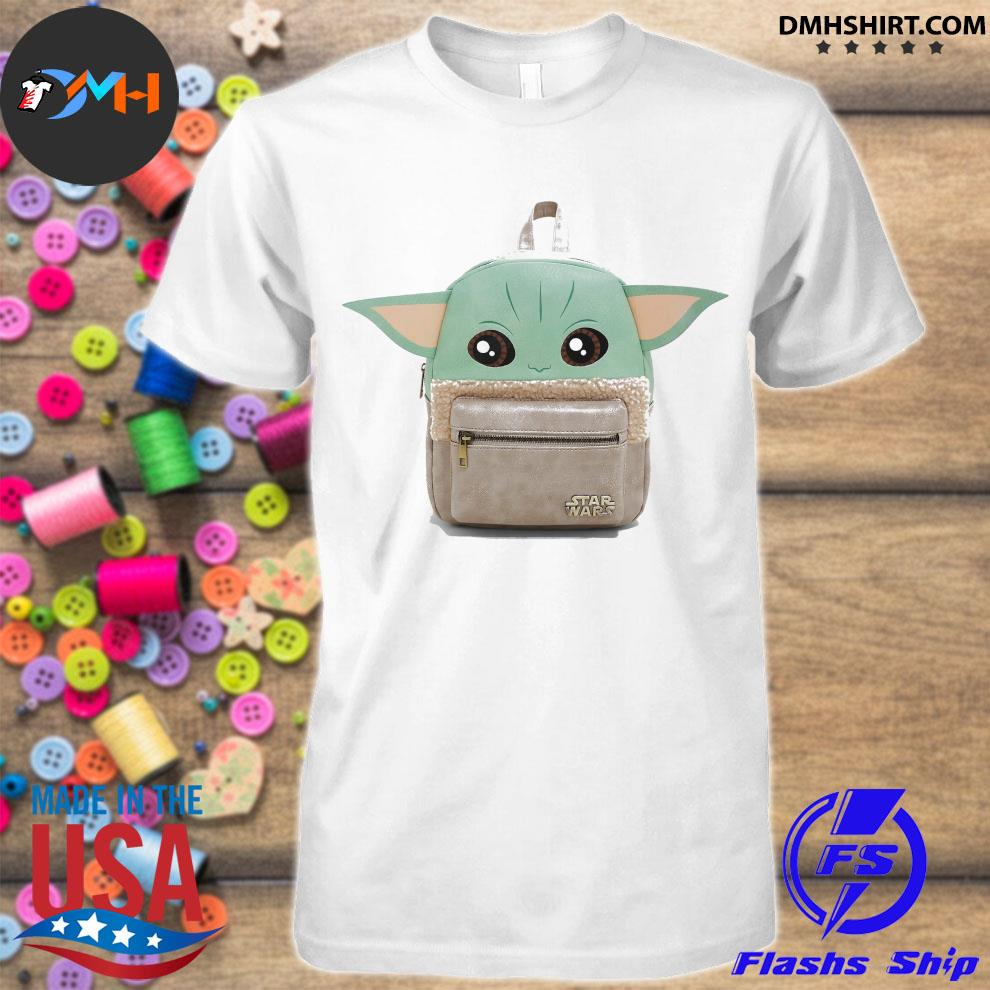 Backpacks Baby Yoda cute shirt