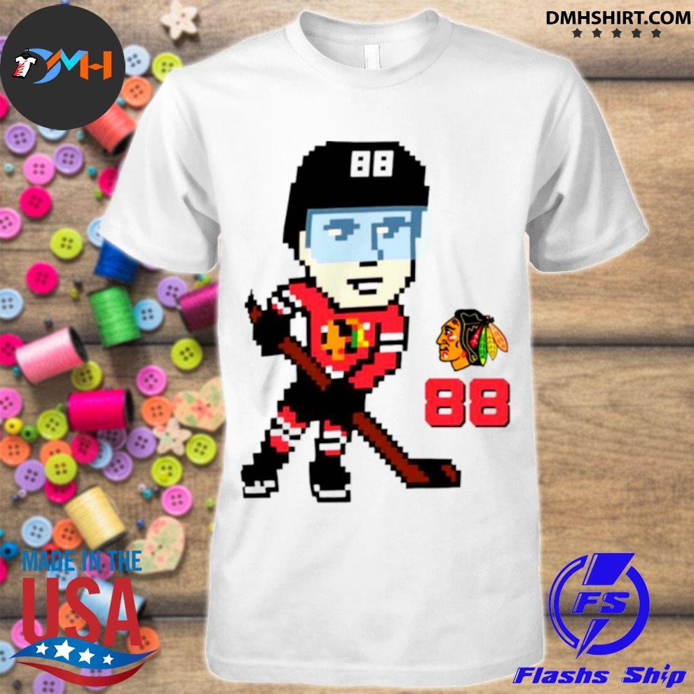 Chicago blackhawks pixel player patrick kane shirt