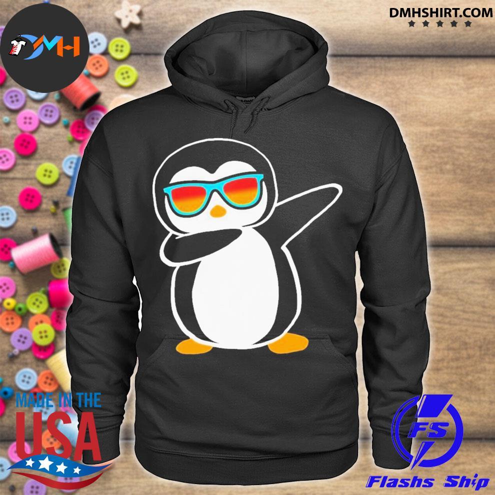 Dabbing penguin hoodie