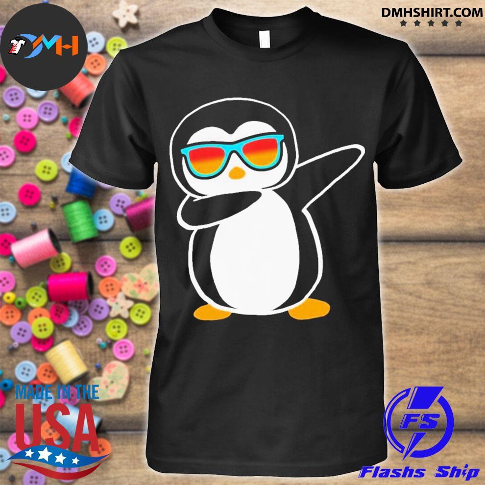 Dabbing penguin shirt