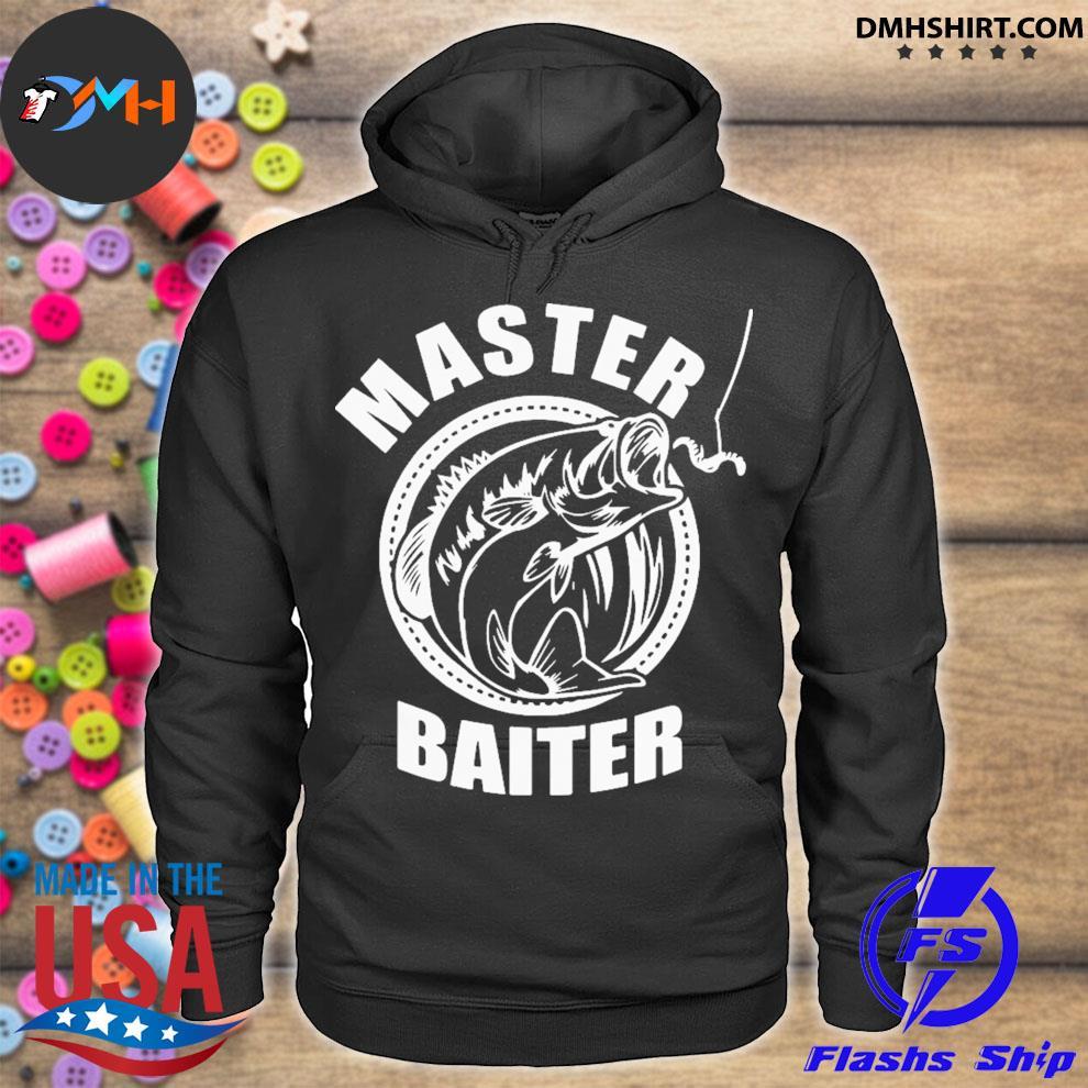 Master baiter fishing hoodie