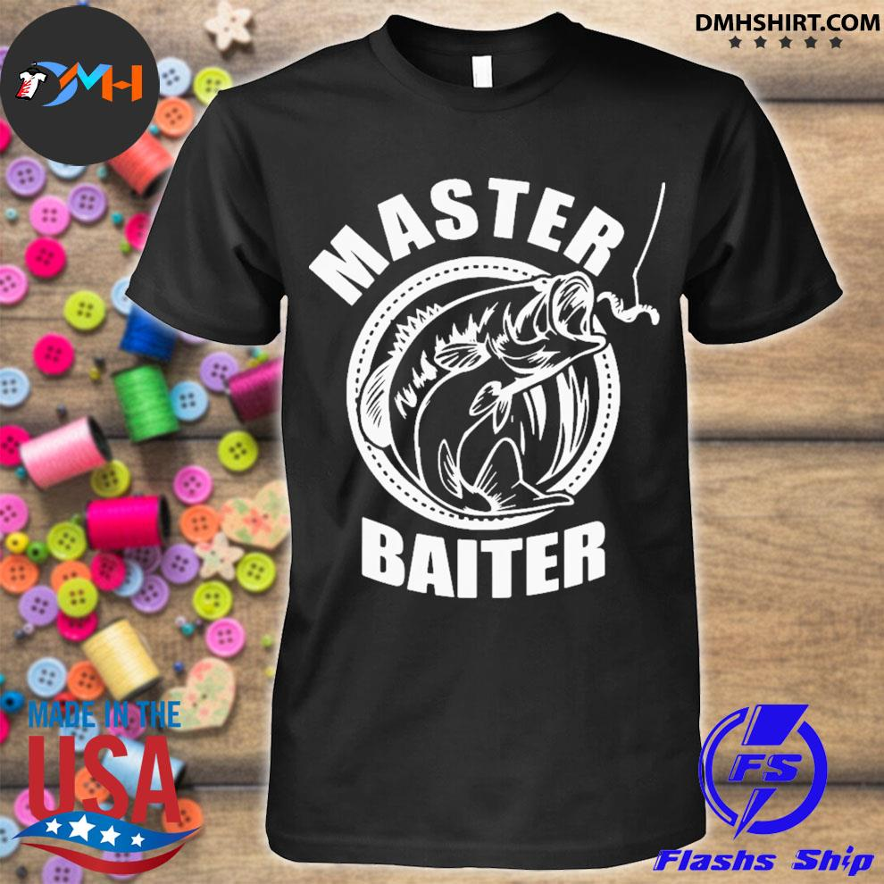 Master baiter fishing shirt