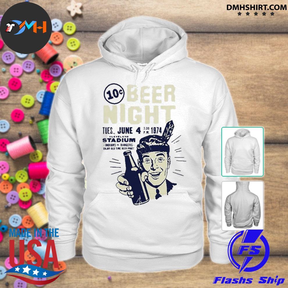 Ten cent beer night hoodie