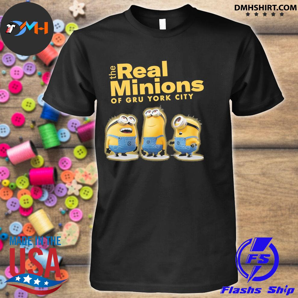 The Real Minions of gru york City 2021 shirt