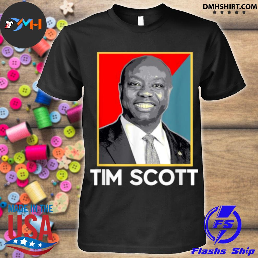 Tim scott 2024 for president election shirt
